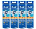 4 x Oral-B Precision Clean Replacement Brush Heads 5pk 1