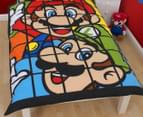 Super Mario Retro Single Duvet Set - Multi 2