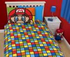 Super Mario Retro Single Duvet Set - Multi 3