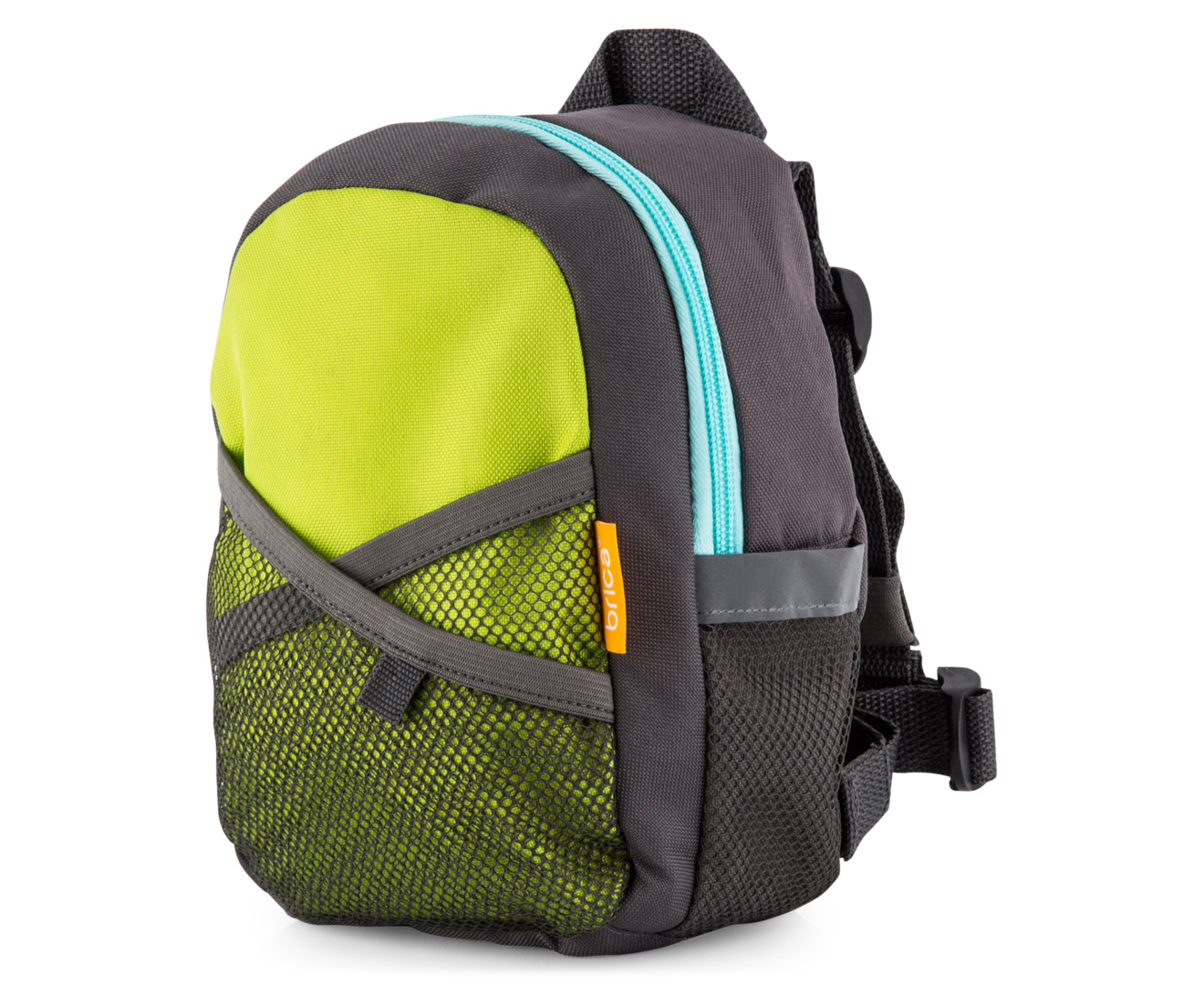 Brica By My Side Kids Safety Harness Backpack Green
