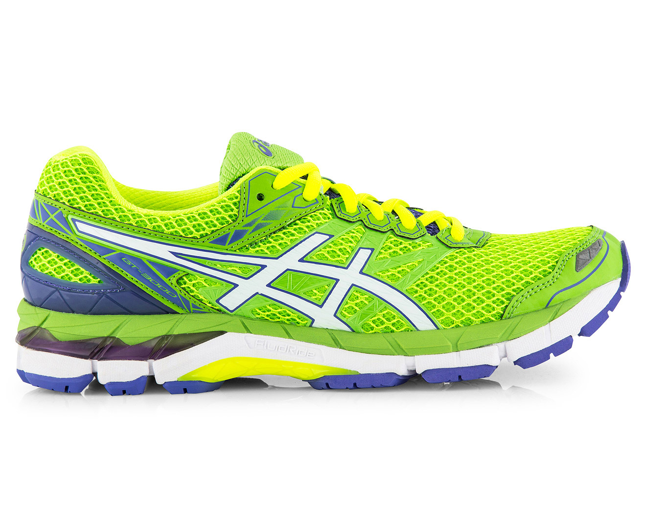 world-wide selection of color brilliancy order online ASICS Women's GT-3000 4 Shoe - Jasmin Green/White/Flash Yellow