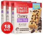 3 x Uncle Tobys Chewy Choc Chip Muesli Bar 6pk 1