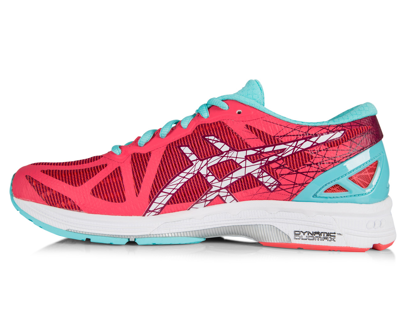 d8afc9f909bc ASICS Women s GEL-DS Trainer 21 Shoe - Diva Pink White Turquoise