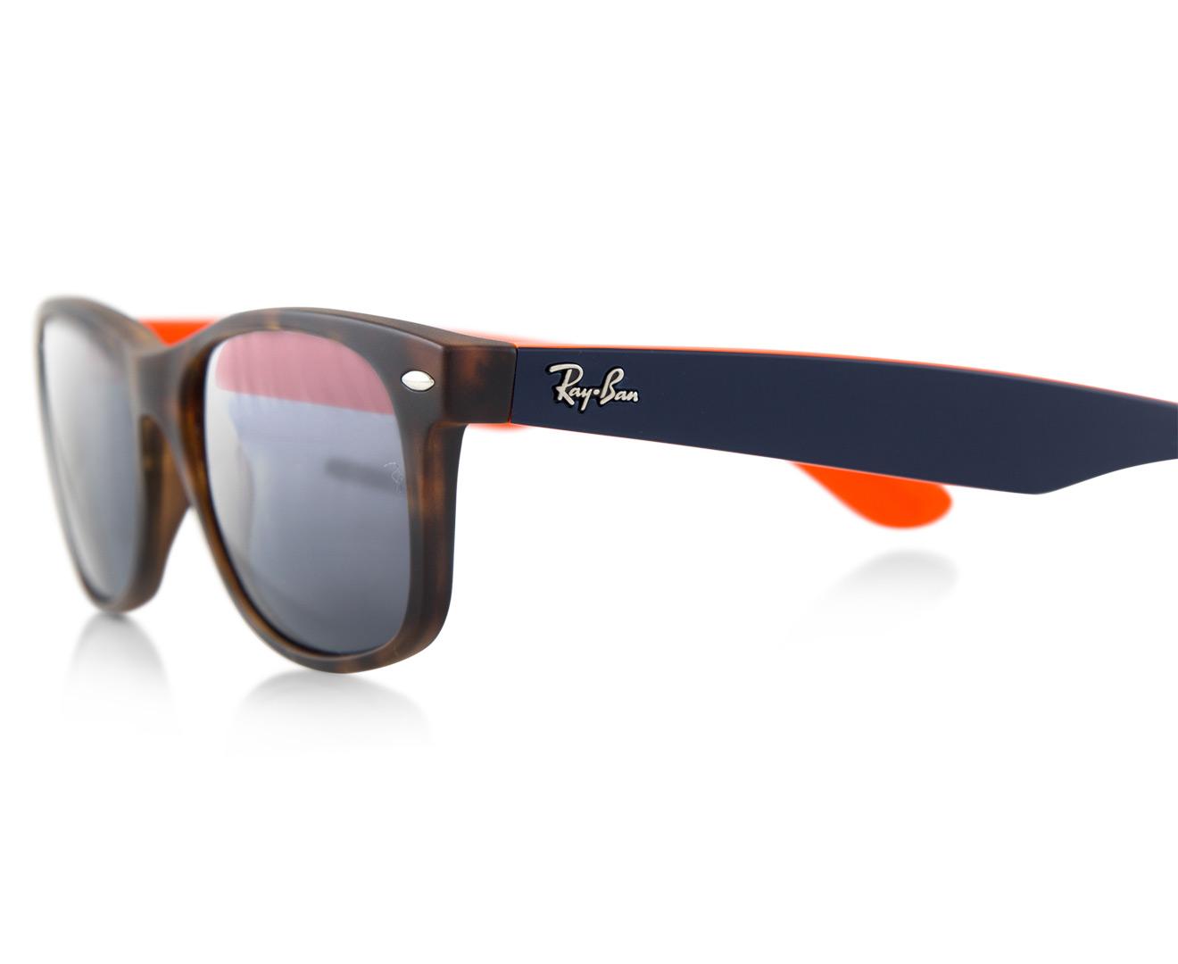 ... spain ray ban new wayfarer bicolour rb2132 6180r5 sunglasses tortoise  blue catch.au 2f85d 04e71 7abe86acbab6