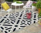 Modern Star 330x240cm Indoor/Outdoor Rug - Navy 2