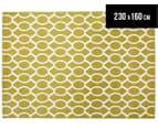 Linked Ovals 230x160cm Indoor/Outdoor Rug - Citrus 1