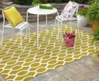 Linked Ovals 230x160cm Indoor/Outdoor Rug - Citrus 2