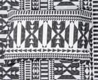 Belmondo Barundi Double Bed Quilt Cover Set - Black/White 6