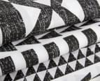 Belmondo Barundi Queen Bed Quilt Cover Set - Black/White 3