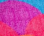 Belmondo Fish Scale Queen Bed Quilt Cover Set - Multi 4