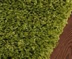 Chicago 230x160cm Shag Rug - Green 3