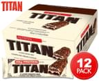 12 x Titan Bar Cookies N Cream 80g video