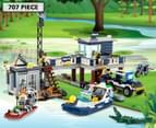 LEGO® City Swamp Police Station Building Set 1