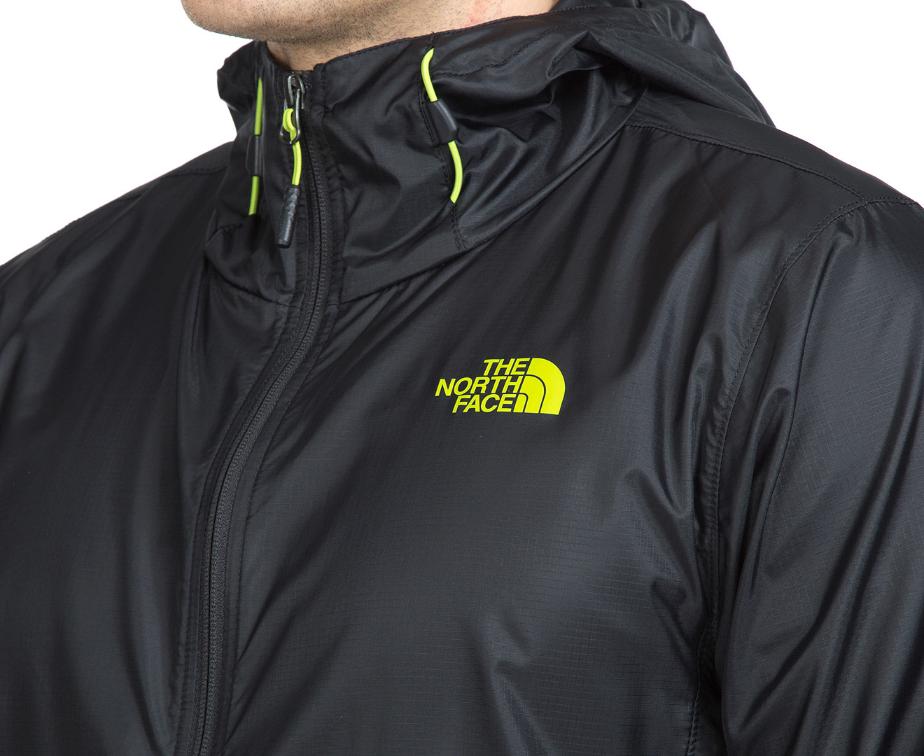 cea7c6c8fc0f The North Face Men s Cyclone Hoodie - Black Macaw Green