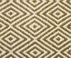 Diamond 280x190cm Reversible Rug - Green 5