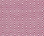 Diamond 280x190cm Reversible Rug - Pink 6