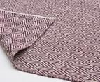 Diamond 320x230cm Reversible Rug - Purple 3