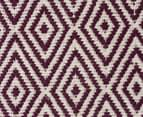 Diamond 320x230cm Reversible Rug - Purple 5
