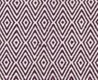 Diamond 320x230cm Reversible Rug - Purple 6