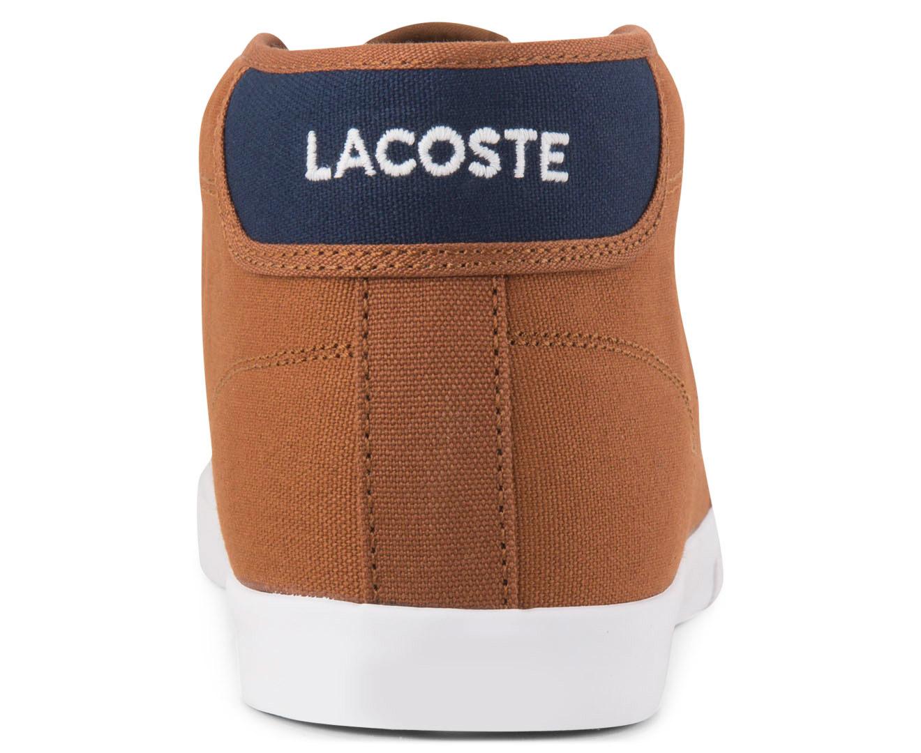 Lacoste Men S Ampthill Wd Shoe Tan