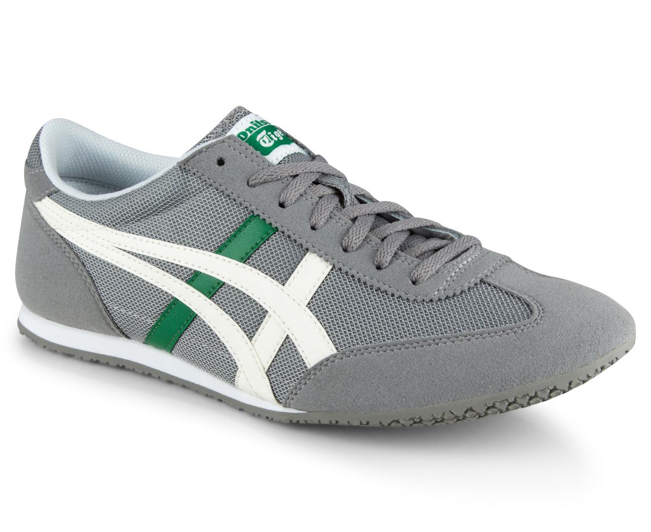buy popular bf84f c5d4f Onitsuka Tiger Men's Machu Racer Shoe - Wild Dove/Slight White