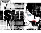 Vogue Fashion 90x59cm Canvas Wall Art 1