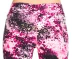 Calvin Klein Performance Women's Blackthorn Print Crop Tight - Day Glow Combo 4