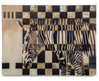 Contemporary Zebra 80x60cm Oil Painting Canvas Wall Art 1