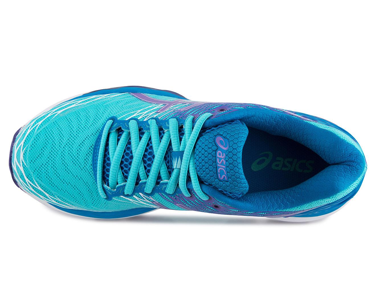 5d33e2c020a ASICS Women's GEL-Nimbus 18 Shoe - Turquoise/Iris/Methyl Blue