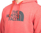 The North Face Men's Half Dome Hoodie - Pompeian Red Heather/Asphalt Grey 5