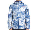 The North Face Men's Chicago Wind Jacket - Limoges Blue Cirrus Print 2