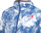 The North Face Men's Chicago Wind Jacket - Limoges Blue Cirrus Print 6