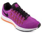 Nike Women's Air Zoom Pegasus 32 Shoe - Vivid Purple/Fuchsia Glow/Hyper Orange 2
