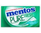 12 x Mentos Pure Fresh Sugarfree Spearmint Gum 25g 2
