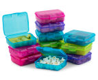 Sistema 200mL Klipo Rectangular Coloured Container 12-Pack - Multi 3