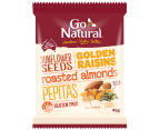 12 x Go Natural Snack Packs Mixed Seeds 45g 2