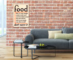 Food Don't Waste It 59x40cm Canvas Wall Art 2