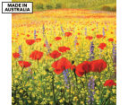 Fromelles Poppies 75x75cm Canvas Wall Art 1