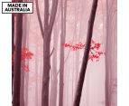 Pink Forest 75x75cm Canvas Wall Art 1
