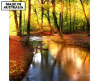 Sunkissed Forest 75x75cm Canvas Wall Art 1