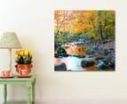 Forest Stream 75x75cm Canvas Wall Art 2