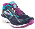 Brooks Women's Ghost 8 Shoe - Peacoat/Holly Hock/Capri Breeze 2