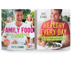 Pete Evans Healthy Every Day & Family Food Cookbook 2-Pack 1