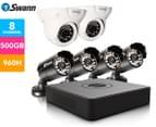 Swann DVR8-1525 8-Channel 960H Digital Video Recorder, 4 x PRO-15 Cameras & 2 x PRO-736 Dome Cameras 1