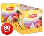 4 x Lipton Forest Fruits Black Tea Bags 20pk 1