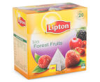 4 x Lipton Forest Fruits Black Tea Bags 20pk 3