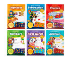 Early Learning Educational Workbooks 6-Pack 1