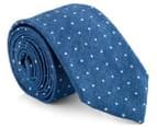 Ben Sherman Men's Plain Tie - Denim 1