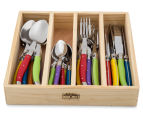 Laguiole Chateau 24-Piece Cutlery Set - Multi 2