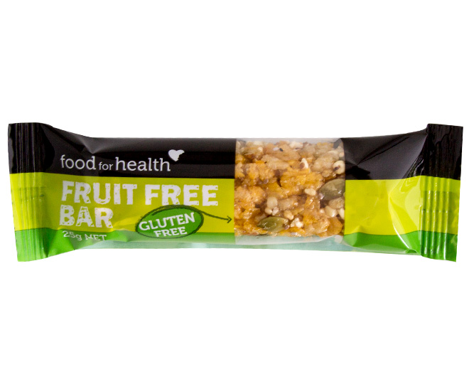 Food for health fruit free bars 18pk great daily deals for Food bar health